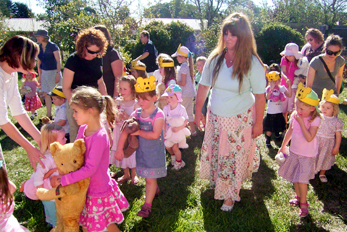 Teddy bears picnic at Bear Hugs