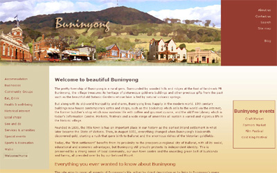 2008 Buninyong Website