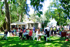 Buninyong harvest lunch