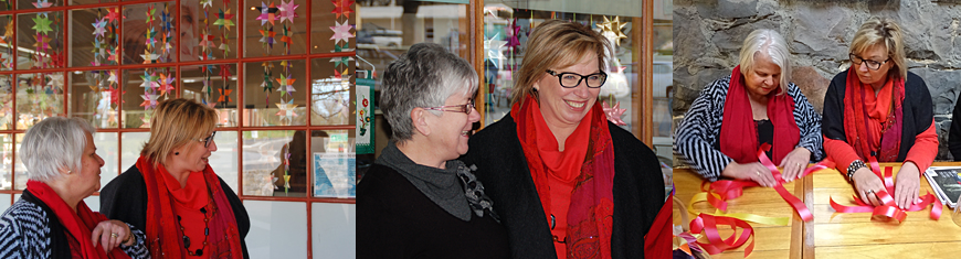 Rosie Batty in Buninyong