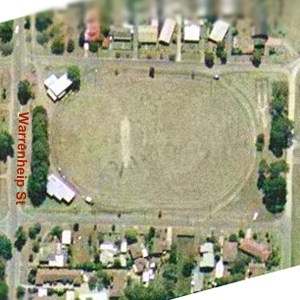 Royal Park overhead view