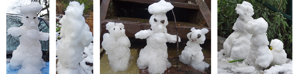 snow-gnomes in Buninyong